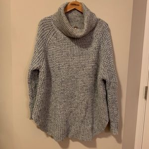 FREE PEOPLE Oversized Comfy Cowl Neck Sweater